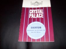 Crystal Palace v Everton, 1969/70